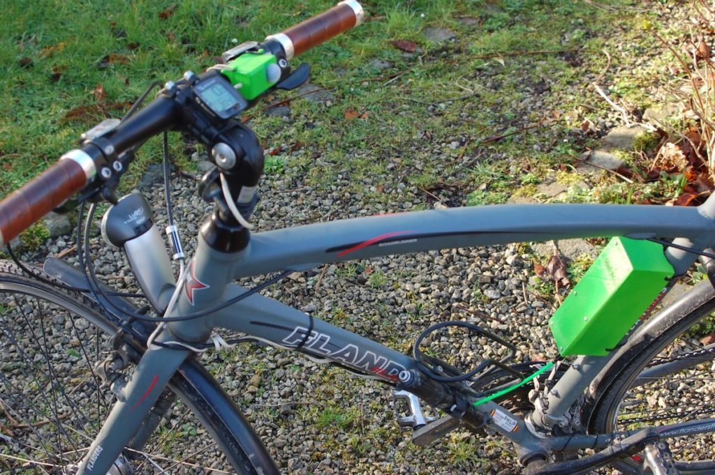 Build an automatic gear shifter for a bicycle with Arduino