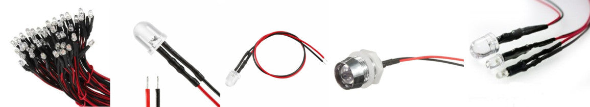 PMD Way now offers useful prewired LEDs with free delivery worldwide