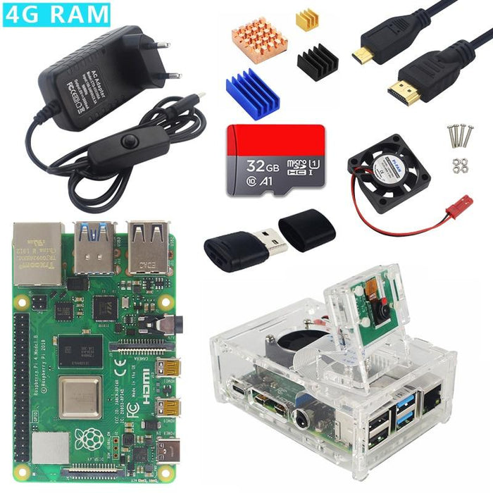 Raspberry Pi Starter Kits from PMD Way with free delivery worldwide