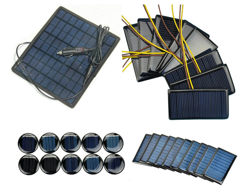 PMD Way now offers a wide range of small, compact and useful solar panels - with free delivery worldwide