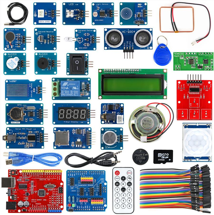 Arduino Starter Kits from PMD Way with free delivery, worldwide
