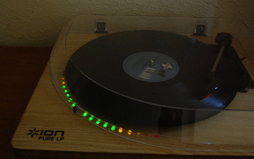 Liven up Record Players with stereo LED VU meters