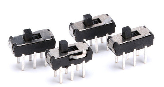PCB Mount Slide Switches from PMD Way with free delivery, worldwide