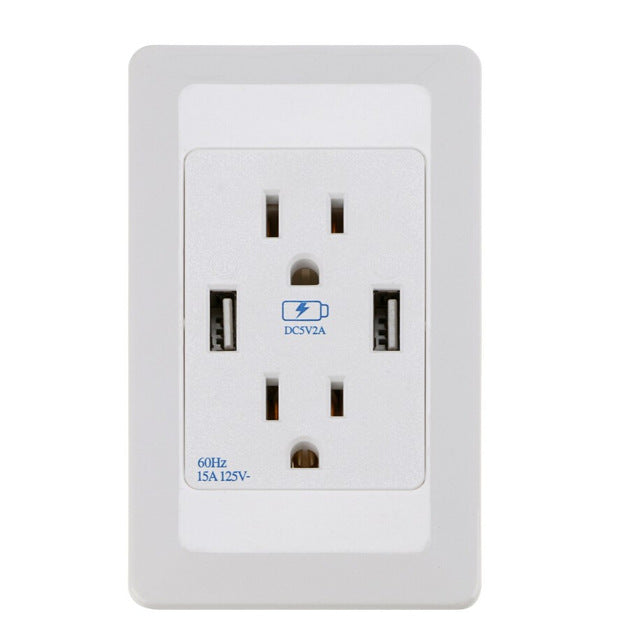 AC USB Wall Outlets from PMD Way for all areas, with free delivery, worldwide