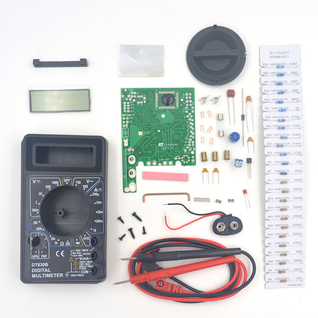 Analog and digital Multimeter Electronics Kits from PMD Way with free delivery, worldwide
