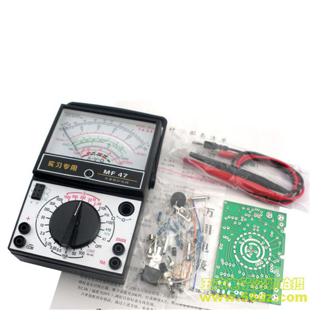 test equipment kits including multimeters, function generators, oscilloscopes and more from PMD Way with free delivery, worldwide