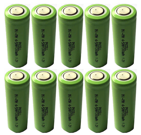 NiMH (Nickel Metal Hydride) rechargable batteries, chargers, accessories and more from PMD Way - with free delivery, worldwide