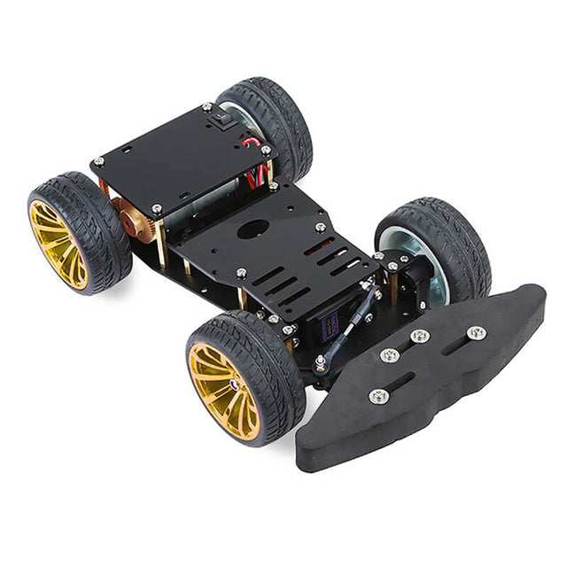 wheeled robot chassis from PMD Way - with free delivery, worldwide