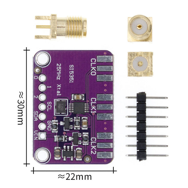 Useful Si5351 Clock Generator Breakout Board from PMD Way with free delivery worldwide