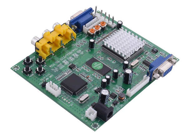 CGA/EGA/RGBS/RGBHV/YUV/YPBPR to VGA HD Video Converter Board from PMD Way with free delivery worldwide