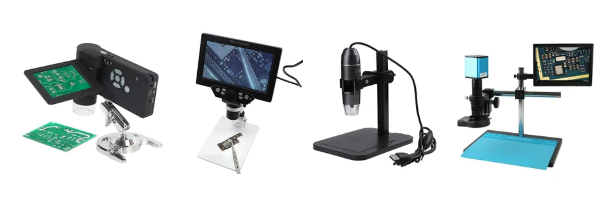 PMD Way now offers a great range of digital microscopes - ideal for all sorts of magnification purposes for repairs, biology, working on PCBs, modeling and more.