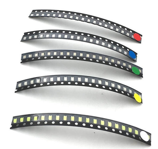 0603 0805 1206 SMD LEDs Red White Green Blue Yellow from PMD Way with free delivery worldwide
