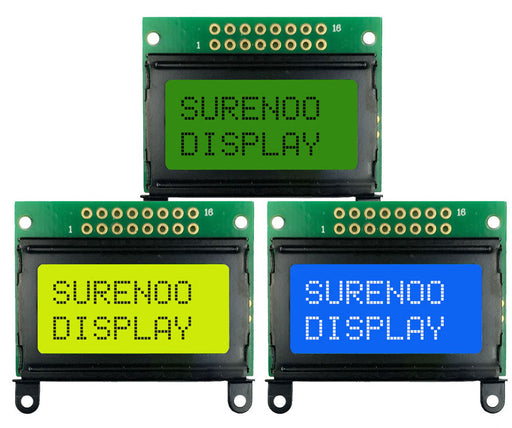 0802 Character LCD with Top Interface - 5 Pack from PMD Way with free delivery worldwide