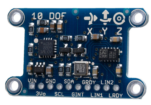 Great value 10-DOF IMU Breakout - L3GD20H + LSM303 + BMP180 from PMD Way with free delivery worldwide