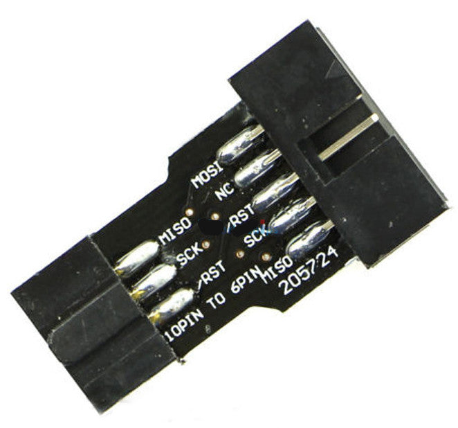 Great value 10 Pin to 6 Pin Adaptor for AVR Programmers from PMD Way with free delivery, worldwide