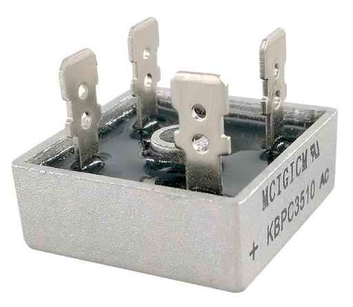 Quality 1000V 35A Diode Bridge Rectifiers KBPC3510 in packs of five from PMD Way with free delivery worldwide