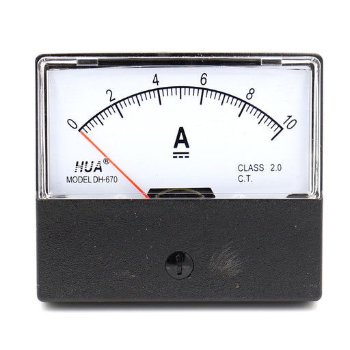 DH-670 Analog DC Ammeter Current Meter 0~10A DC from PMD Way with free delivery worldwide
