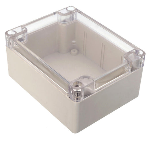 Plastic Enclosure with Clear Cover 115 x 90 x 55mm from PMD Way with free delivery worldwide