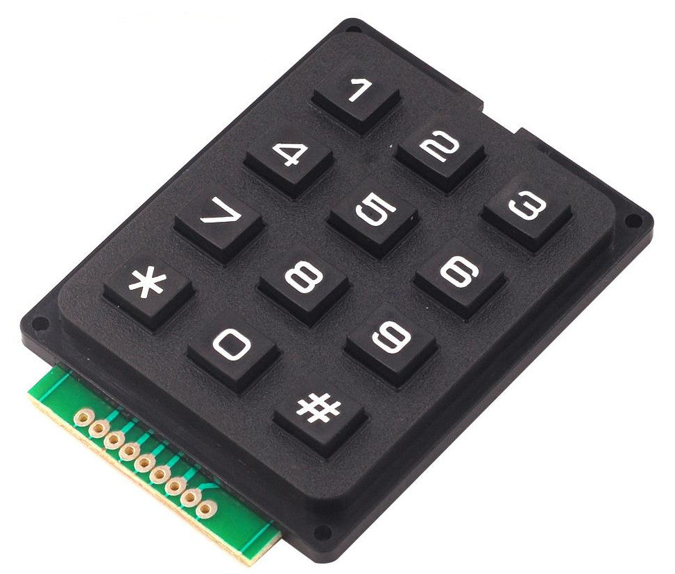 12 Key Keypad Module for Arduino and more from PMD Way with free delivery worldwide
