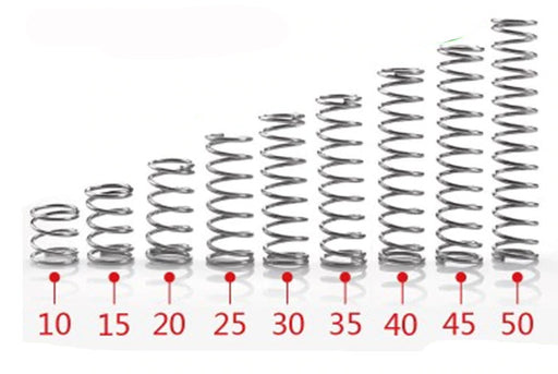 12mm Stainless Steel Compression Springs - 20 Pack from PMD Way with free delivery worldwide