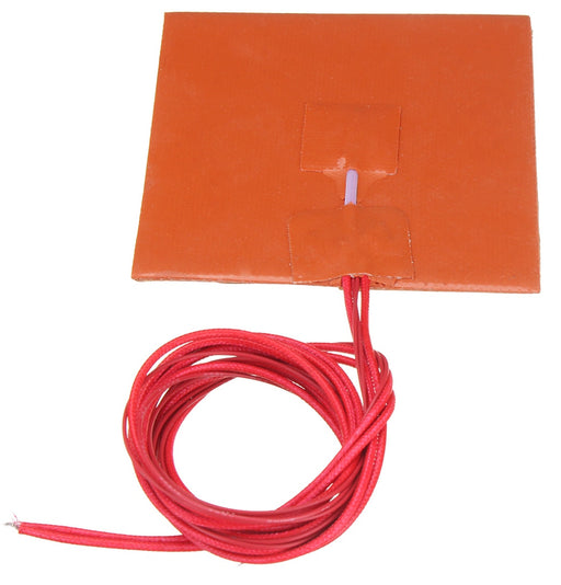 12V 50W Silicon Heating Pad - 100x100mm from PMD Way with free delivery worldwide