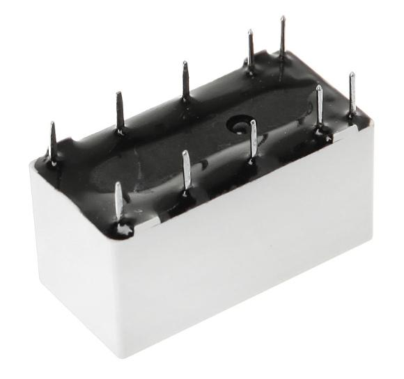 DPDT 12V Coil Bistable Latching Relays in packs of ten from PMD Way with free delivery worldwide
