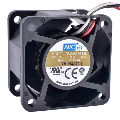 12V DC Silent Fan - 40 x 40 x 28mm from PMD Way with free delivery worldwide