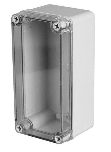 Plastic IP66 Enclosure with Clear Cover 130 x 80 x 70mm from PMD Way with free delivery worldwide