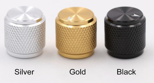 Machined Aluminium Knobs - 13x13mm - Various Colors - 10 Pack from PMD Way with free delivery worldwide