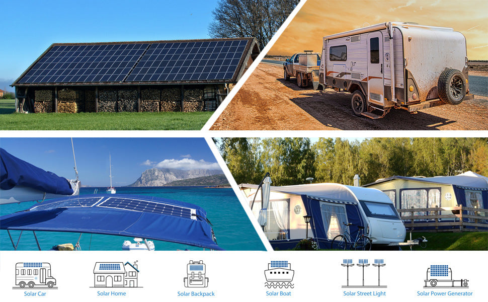 AC Mains Output Offgrid Solar Power Kits from PMD Way