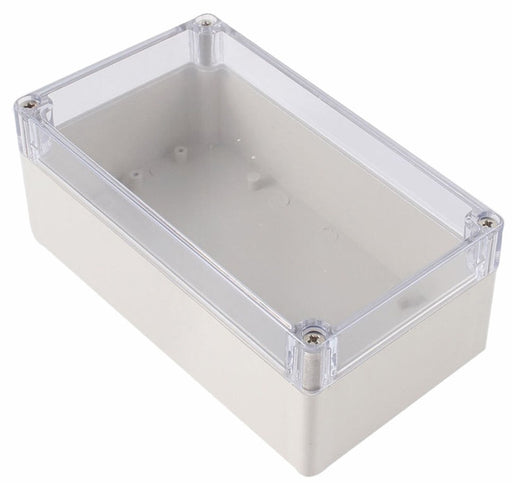 Plastic Enclosure with Clear Cover 158 x 90 x 60mm from PMD Way with free delivery worldwide