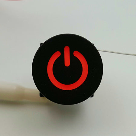Power up your project with illuminated tactile power logo buttons from PMD Way with free delivery worldwide