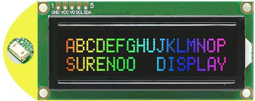 1602 Character LCD Modules with Negative RGB and I2C Interface in packs of five from PMD Way with free delivery worldwide