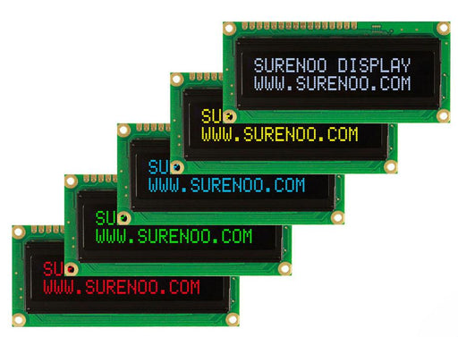 Bright and clear 1602 Character OLED Displays from PMD Way with free delivery worldwide