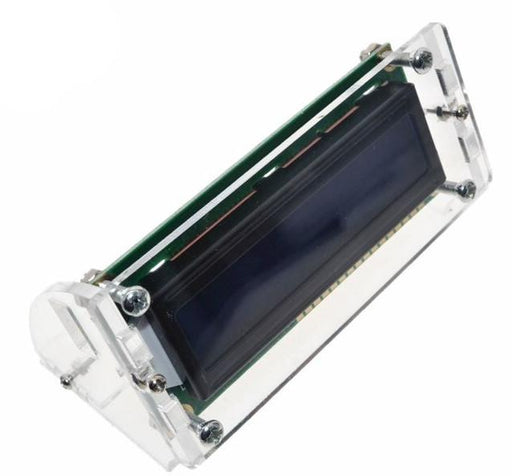 Clear Acrylic Stand for 16x2 LCD Modules - 10 Pack from PMD Way with free delivery worldwide