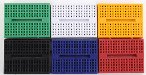 170  Point Solderless Breadboard - Various Colors from PMD Way with free delivery worldwide
