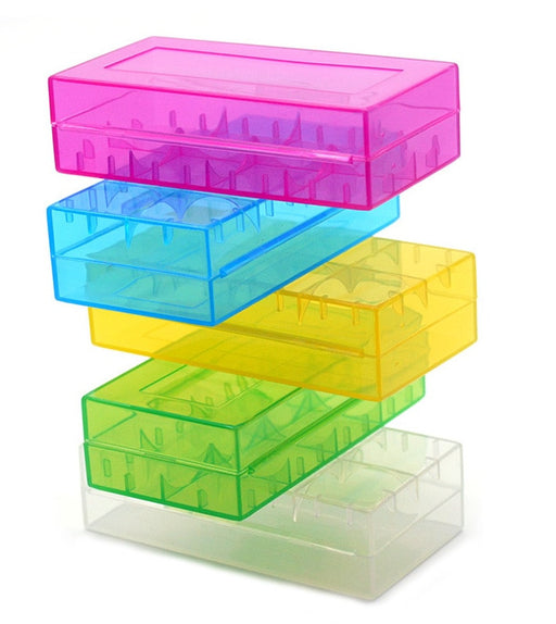 18650 Battery Storage Container - Various Colors from PMD Way with free delivery worldwide