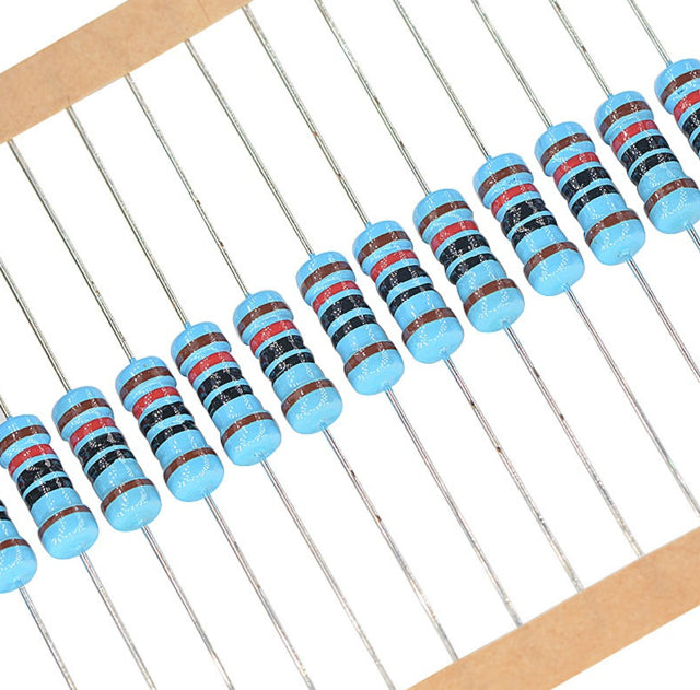 1W Metal Film Resistors - 50 Pack from PMD Way with free delivery worldwide
