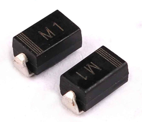 Great value 1N4001 50V 1A SMD Power Diodes in packs of 100 from PMD Way with free delivery worldwide