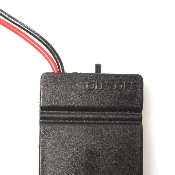 Convenient 2 x 2032 Coin Cell Battery Holder - 6V output with On/Off switch from PMD Way with free delivery worldwide