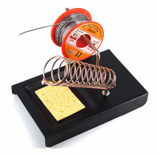 2 in 1 Metal Base Soldering Iron Stand from PMD Way with free delivery worldwide