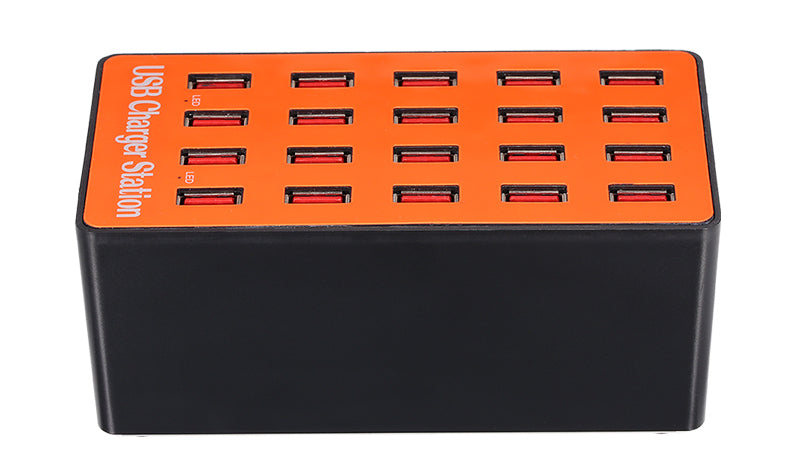 Charge up to 20 USB devices at once with the 20 Port 100W USB Charging Stationfrom PMD Way with free delivery, worldwide