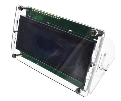 Clear Acrylic Stand for 2004 LCD Modules - 10 Pack from PMD Way with free delivery worldwide
