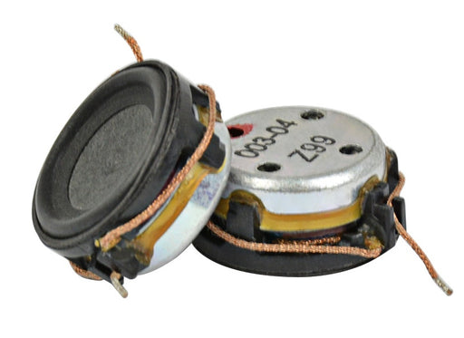 20mm 8 Ohm 1 Watt Speakers in packs of two from PMD Way with free delivery worldwide