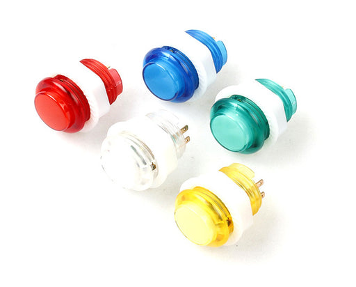 24mm LED Illuminated Arcade Buttons in packs of ten from PMD Way with free delivery worldwide