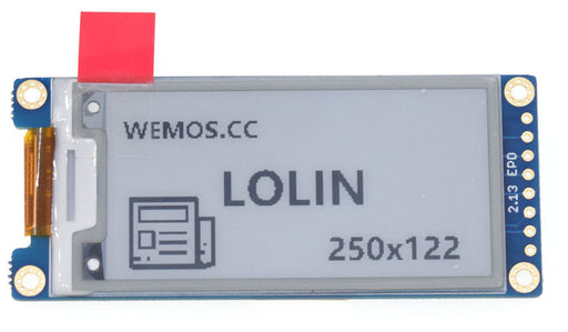 250x122 ePaper Shield for WeMos LoLin Boards from PMD Way with free delivery worldwide