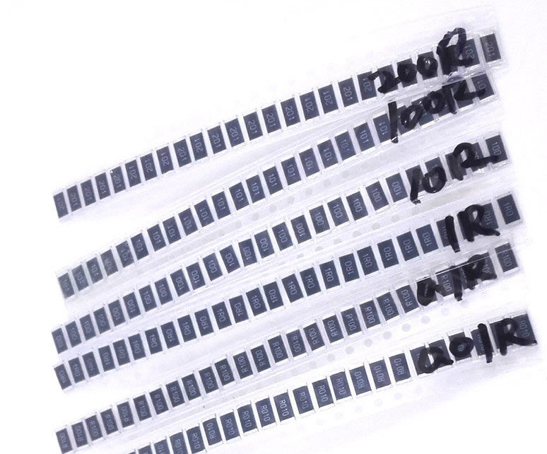 Assorted 2512 SMD Resistor Pack - 150 Pieces from PMD Way with free delivery worldwide