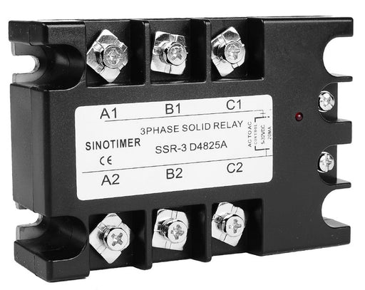 3 Phase Solid State Relay 25A DC-AC from PMD Way with free delivery worldwide