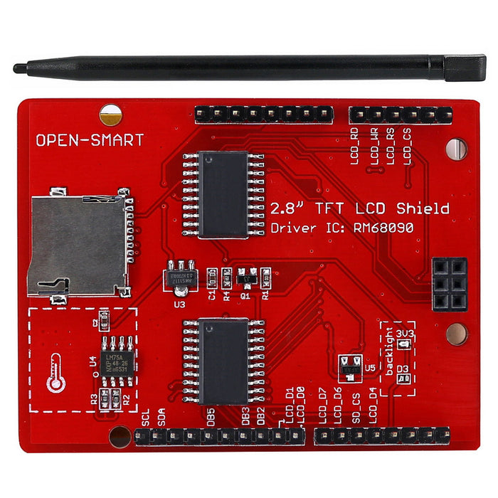 "Great value 2.8"" TFT LCD Touch Screen Shield for Arduino from PMD Way with free delivery, worldwide"