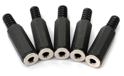 3.5mm Stereo Inline Jack Socket - 5 Pack from PMD Way with free delivery worldwide